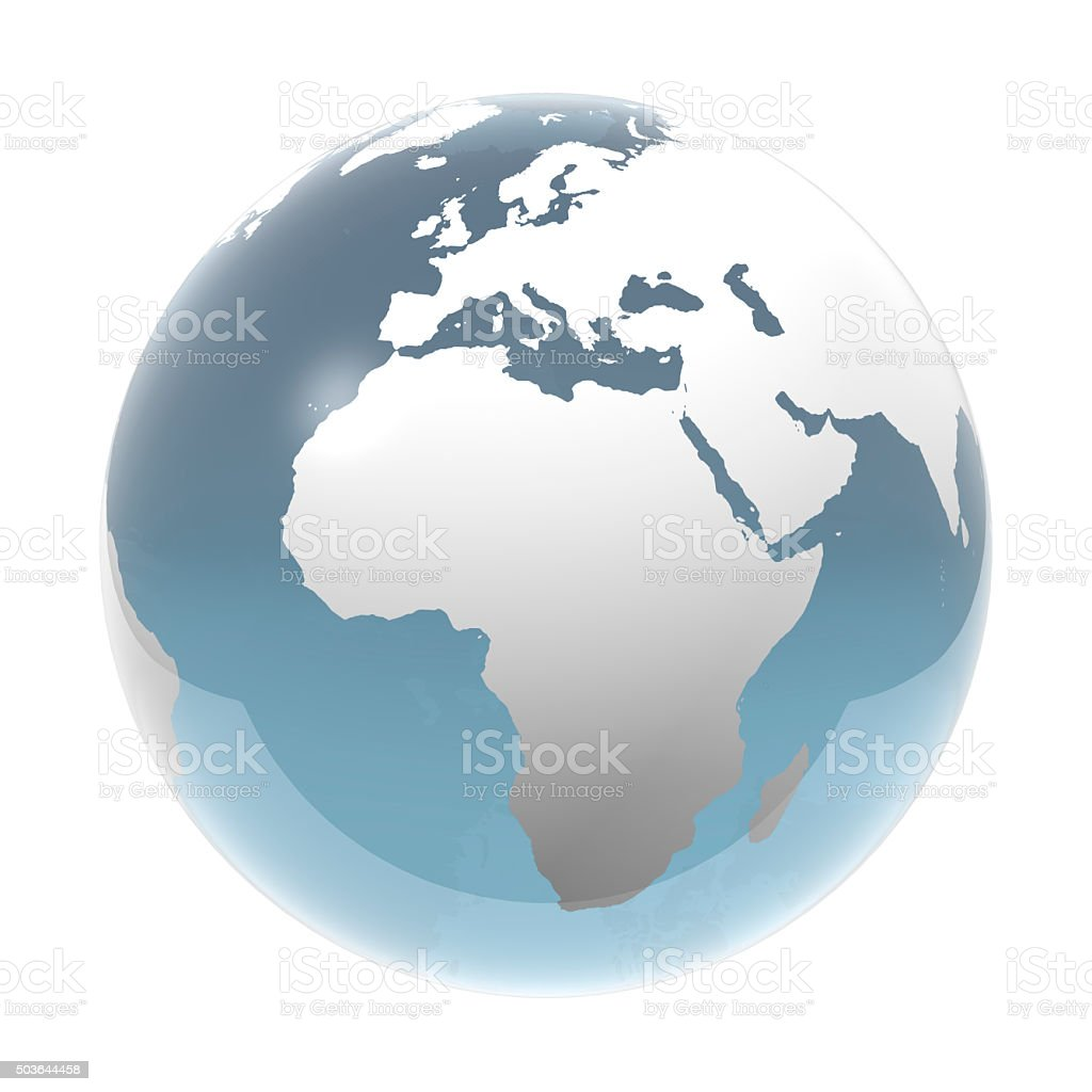 Earth, World Globe stock photo