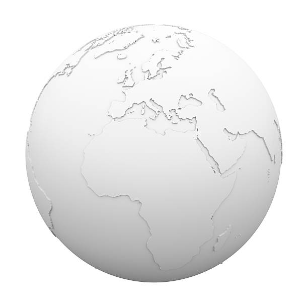 Earth - World Map stock photo