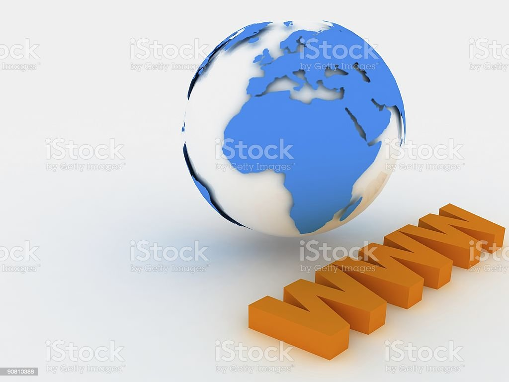 Earth www royalty-free stock photo