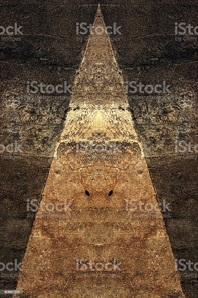Earthbound / Triangular Composition royalty-free stock photo