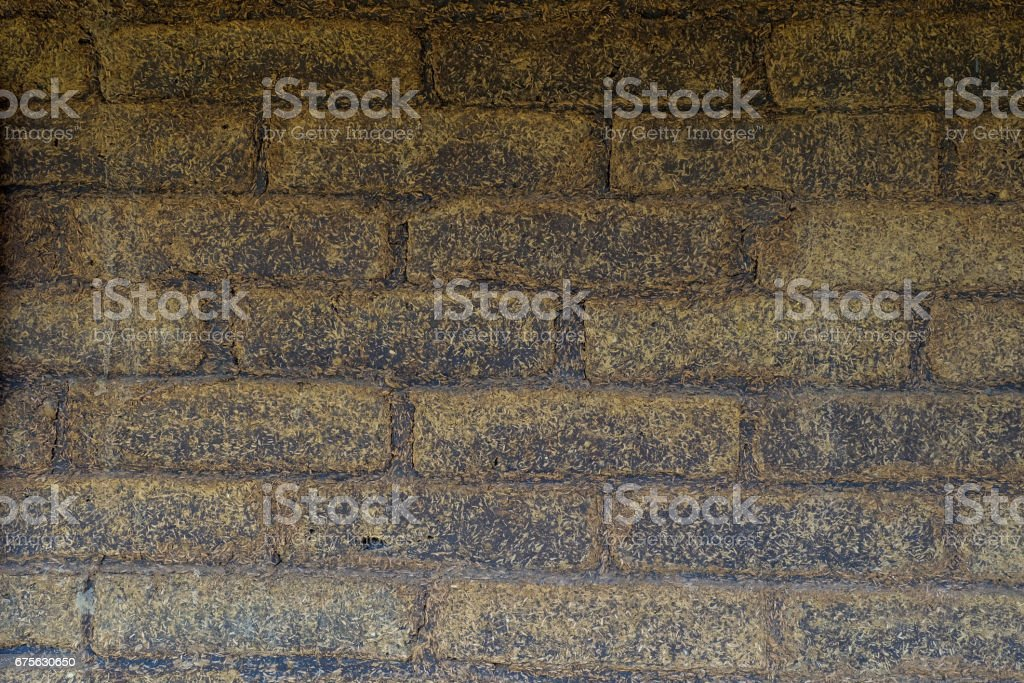 earthen wall royalty-free stock photo