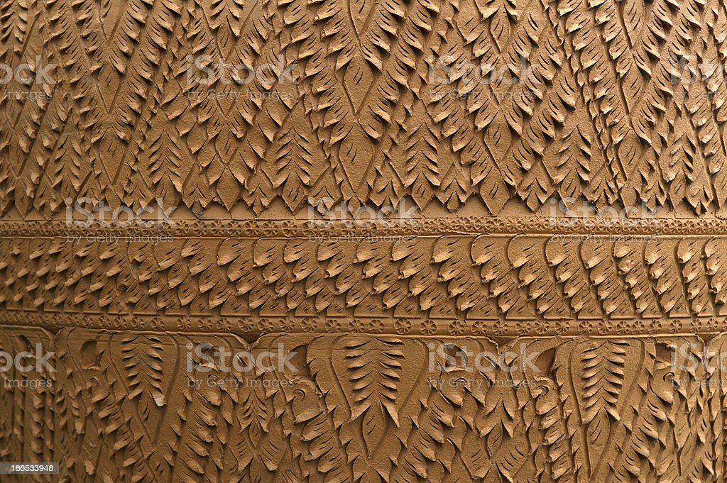 Earthenware texture royalty-free stock photo