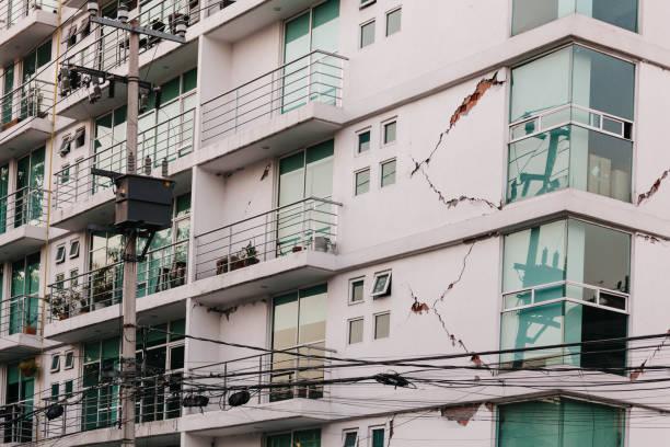 Erdbebenschäden, Mexiko-Stadt – Foto