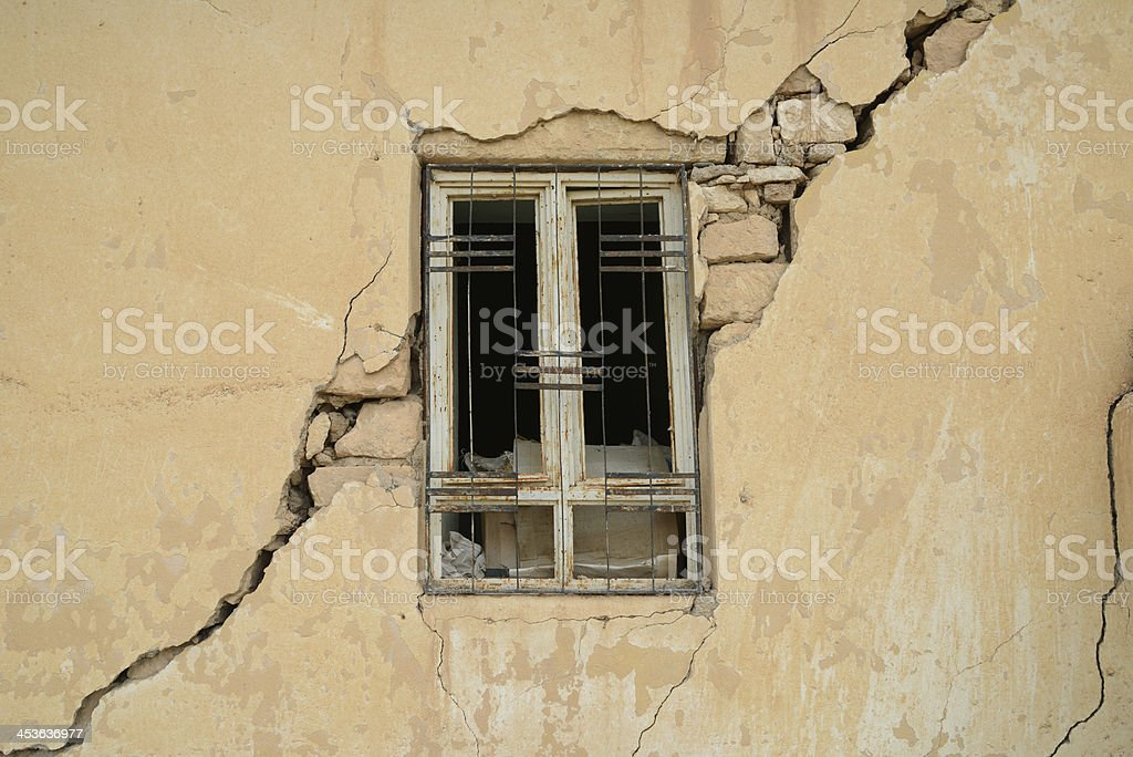 Earthquake royalty-free stock photo
