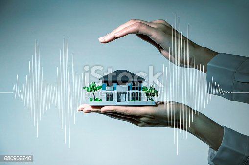istock earthquake resistant  house design concept 680906740