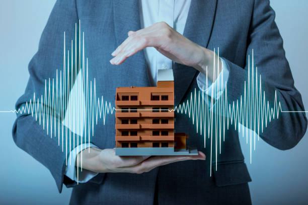 地震に強い家の設計思想 ストックフォト