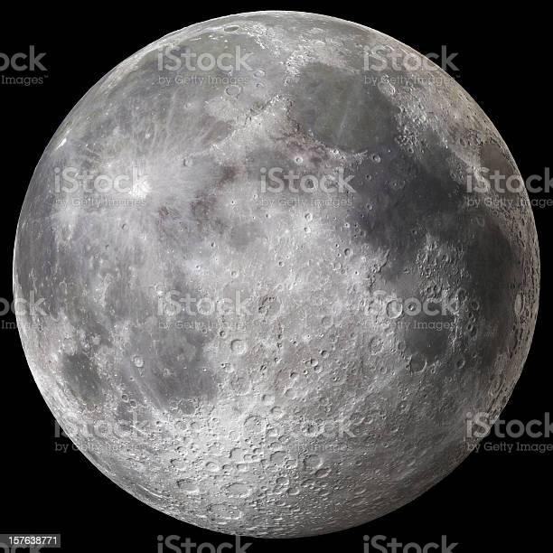 Photo of Earth's Full Moon v3