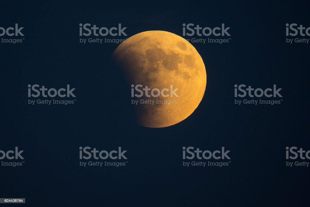 Earth's Shadow stock photo