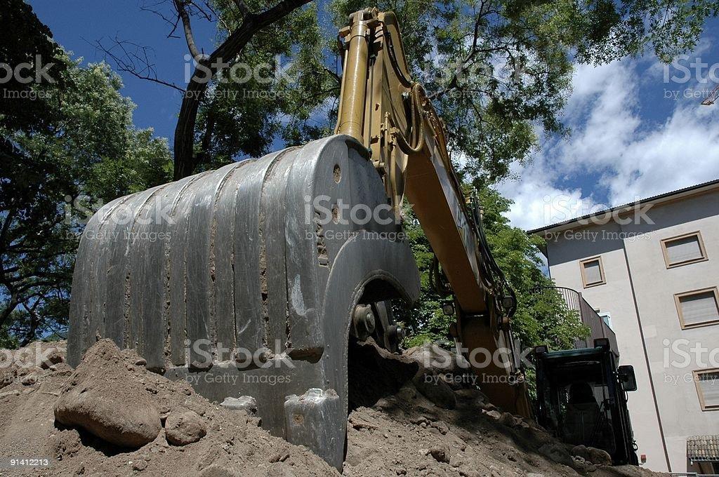 Earthworks royalty-free stock photo