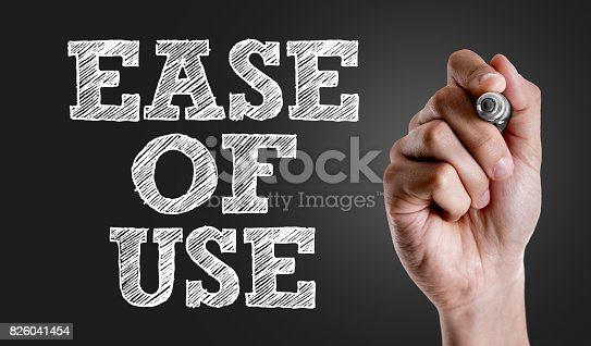 954744070 istock photo Ease of Use 826041454