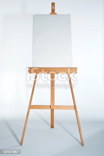 istock Easel With Vertical Board 137575821