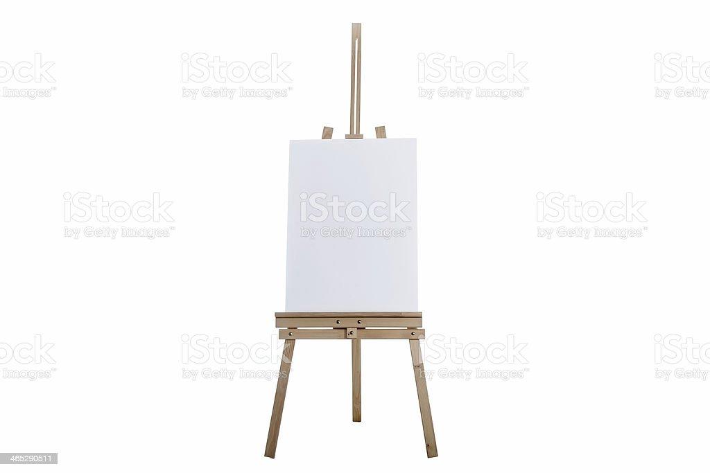 Staffelei Mit Vertikalen Canvas Stock-Fotografie und mehr Bilder von ...