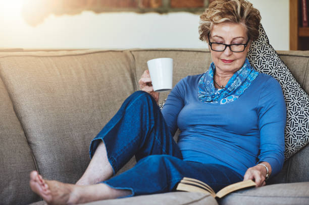 Best Mature Barefoot Women Relaxing Stock Photos, Pictures  Royalty-Free Images - Istock-1767