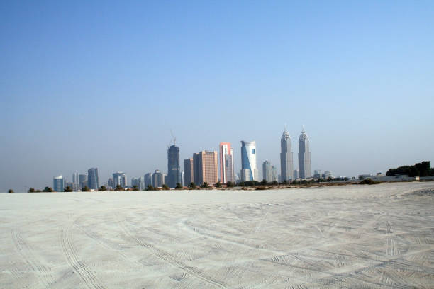 East architecture, panorama with a view of the buildings