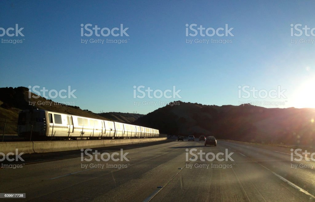 BART/ East Bay stock photo