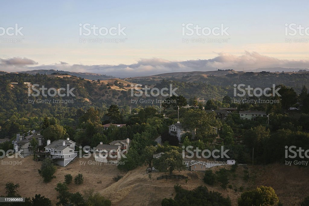 East Bay Suburbs royalty-free stock photo