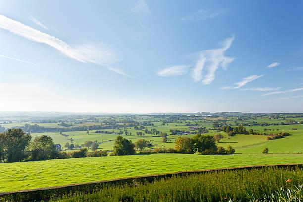 East Belgian Landscape stock photo