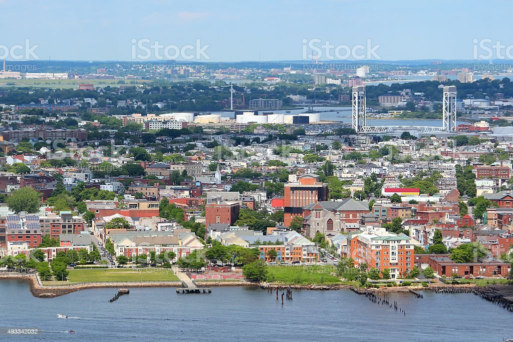 East Boston stock photo
