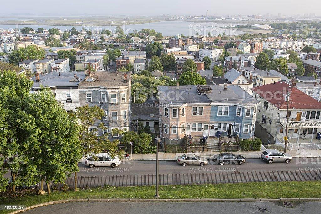 East Boston View stock photo