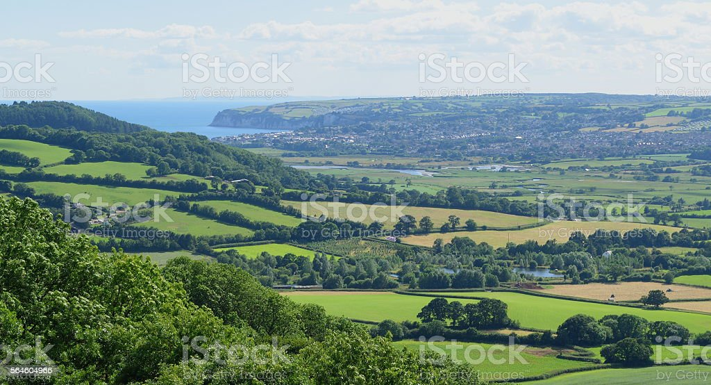 East Devon stock photo