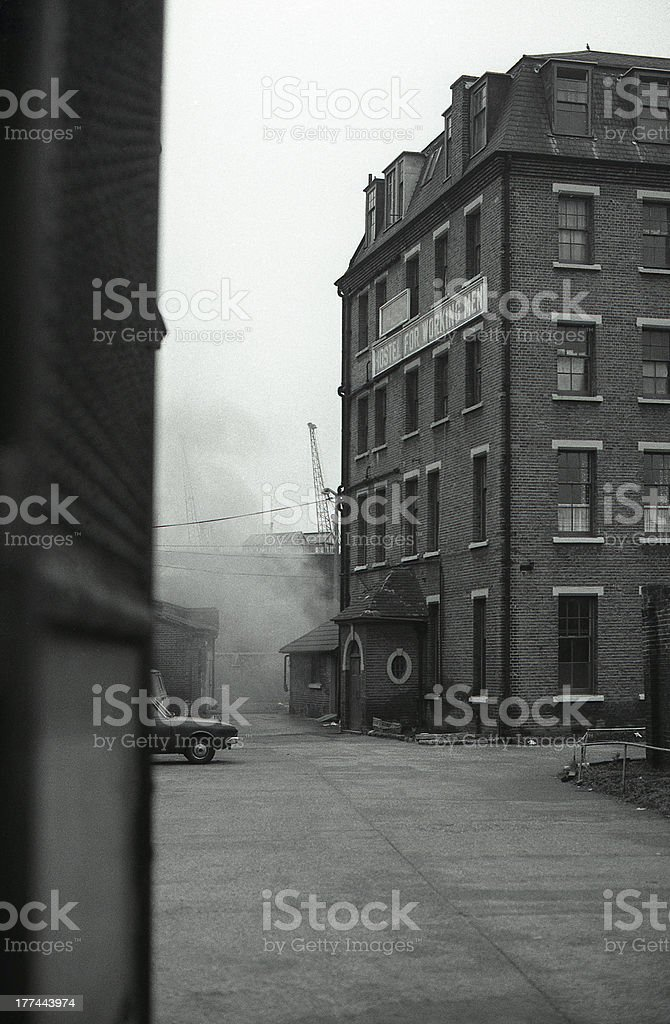 East End, 1979 stock photo