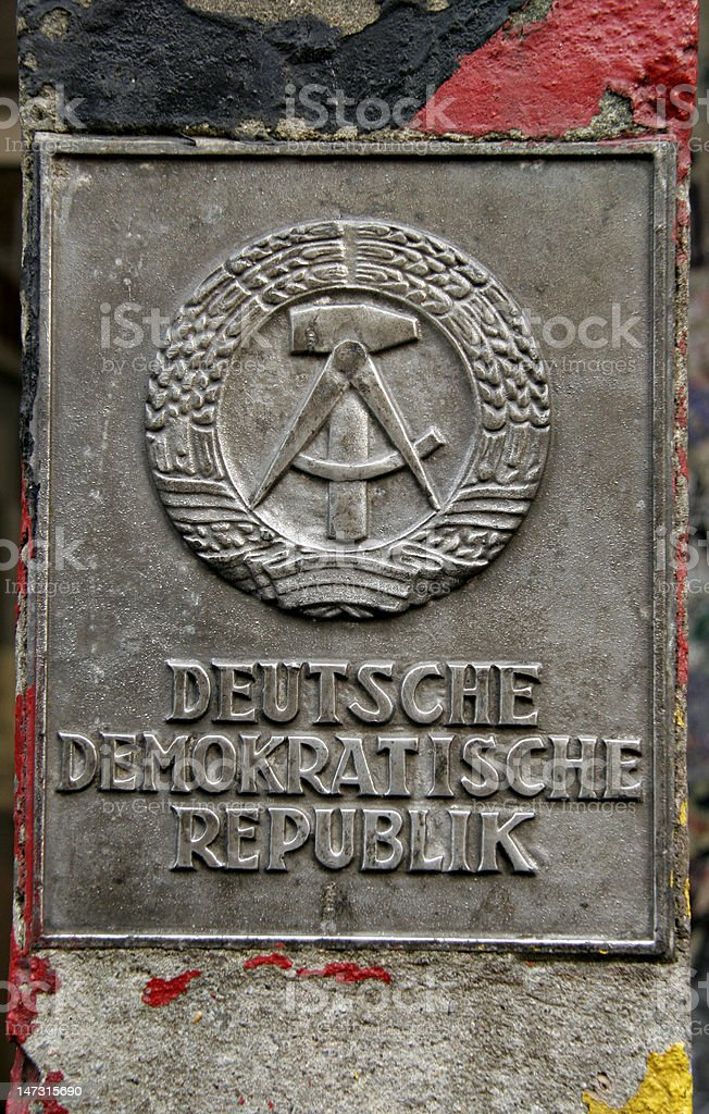 East germany royalty-free stock photo
