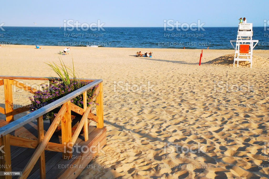 East Hampton, Summer Afternoon stock photo