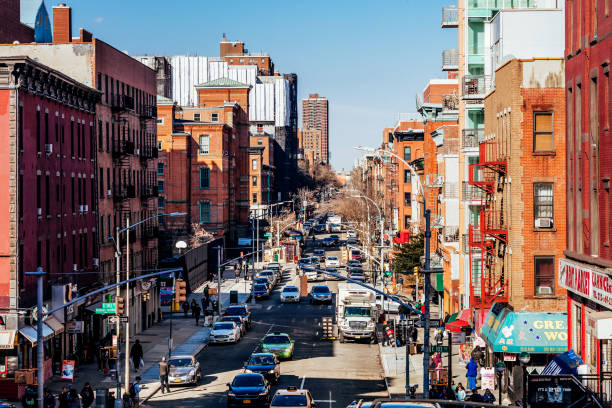 East Harlem, New York City stock photo