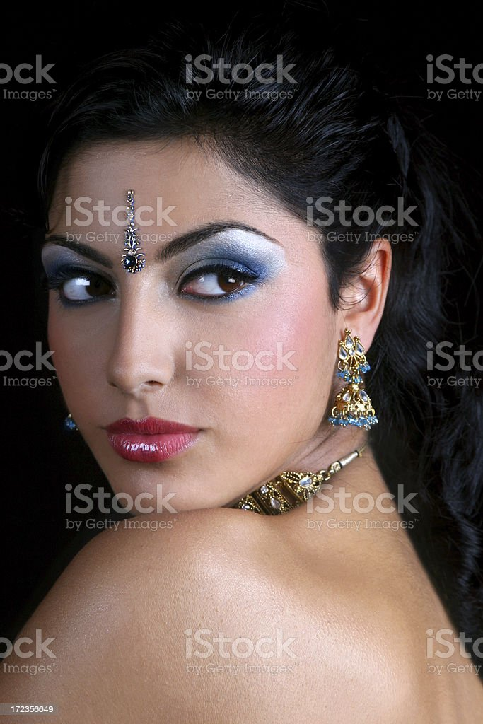 East Indian Beauty royalty-free stock photo
