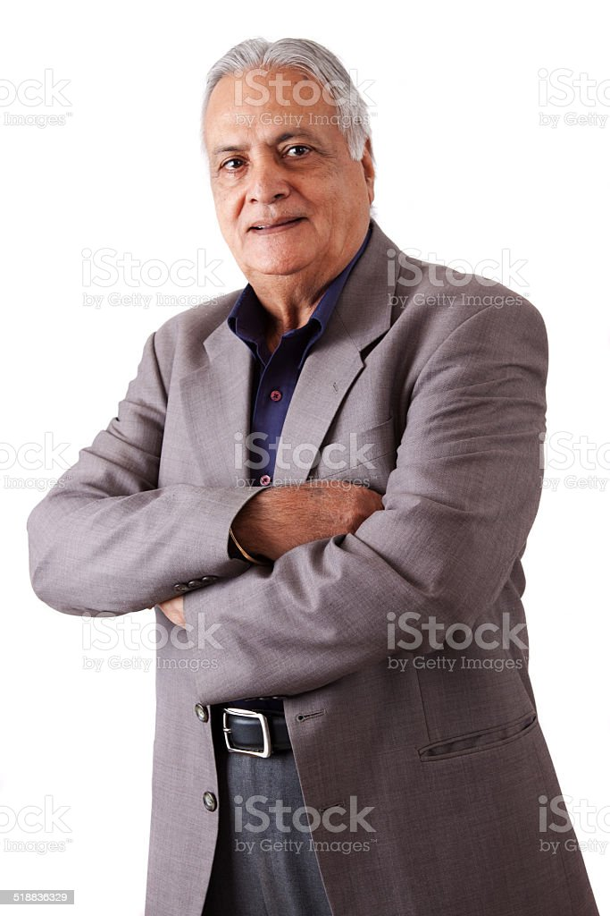 East Indian Man stock photo