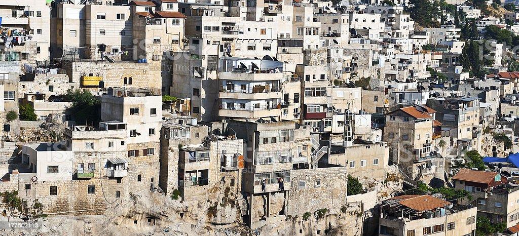 East Jerusalem royalty-free stock photo