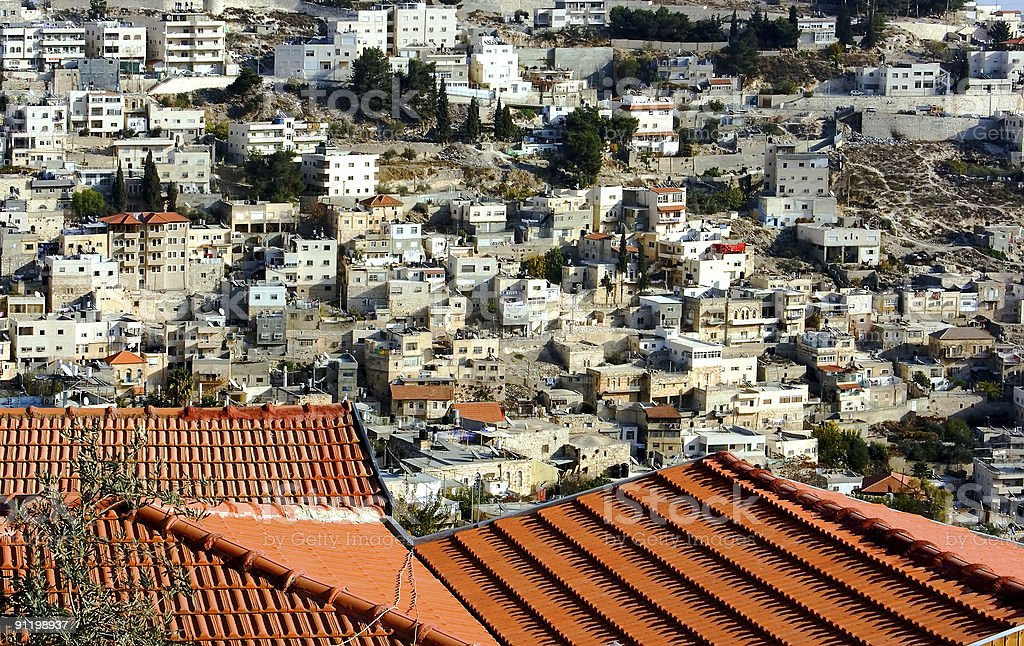 East Jerusalem. royalty-free stock photo
