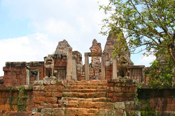 East Mebon in Diem Reap stock photo