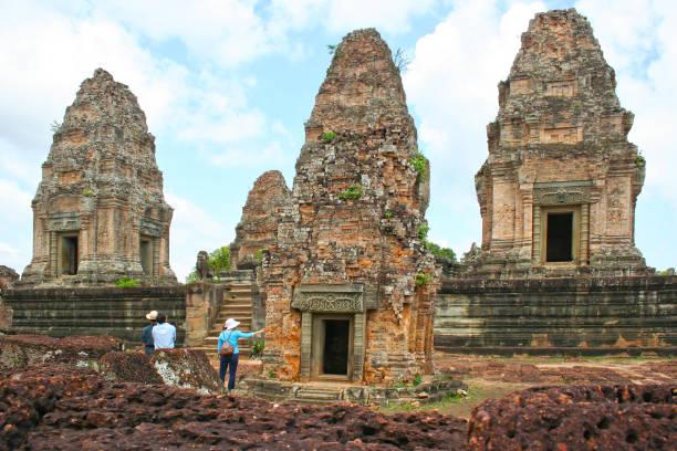 East Mebon in Siem Reap stock photo