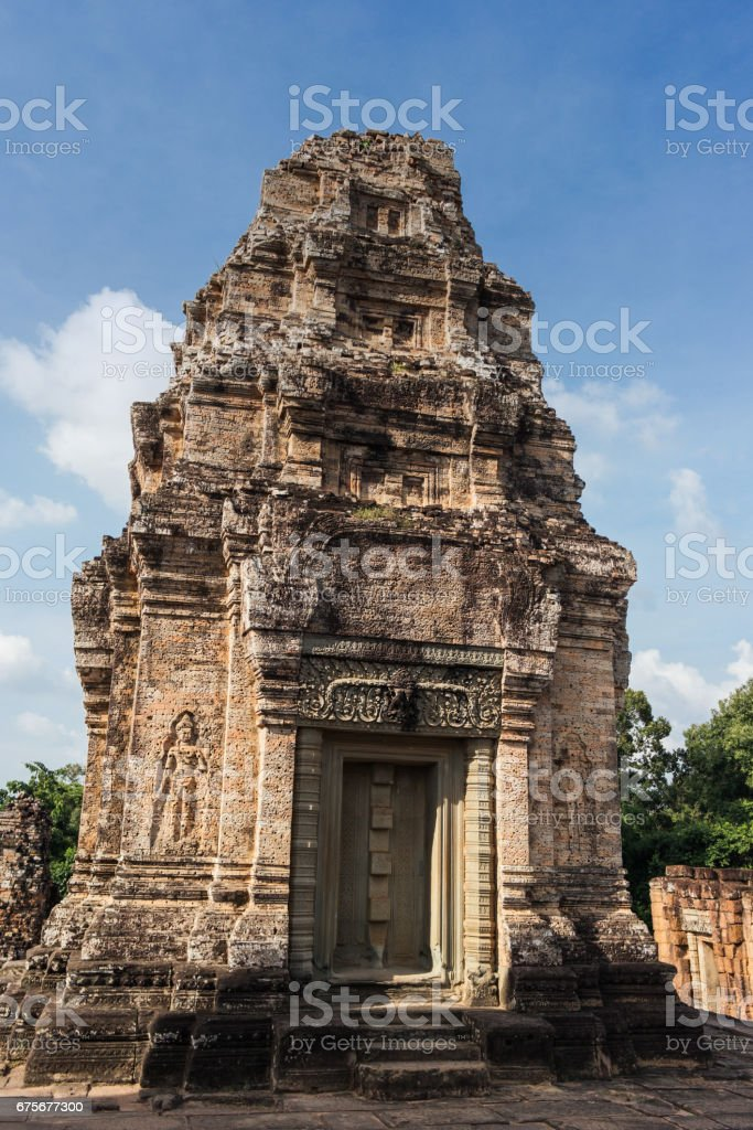 East Mebon Temple, Siem Reap, Cambodia royalty-free stock photo