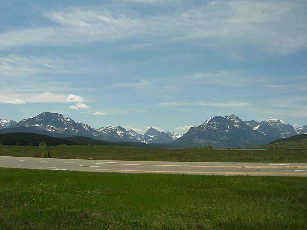 East of Glacier, NP Montana stock photo