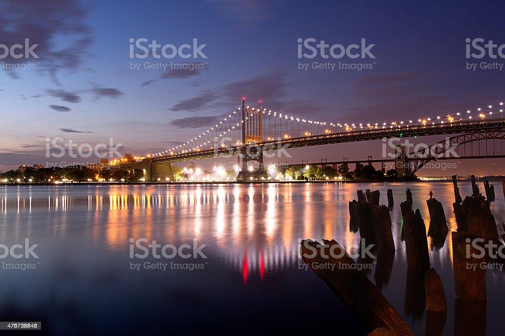 East River Bridges stock photo
