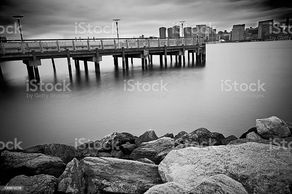 East River New York stock photo