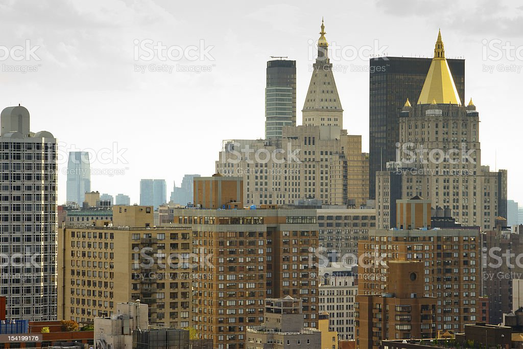 East Side buldings, New York stock photo