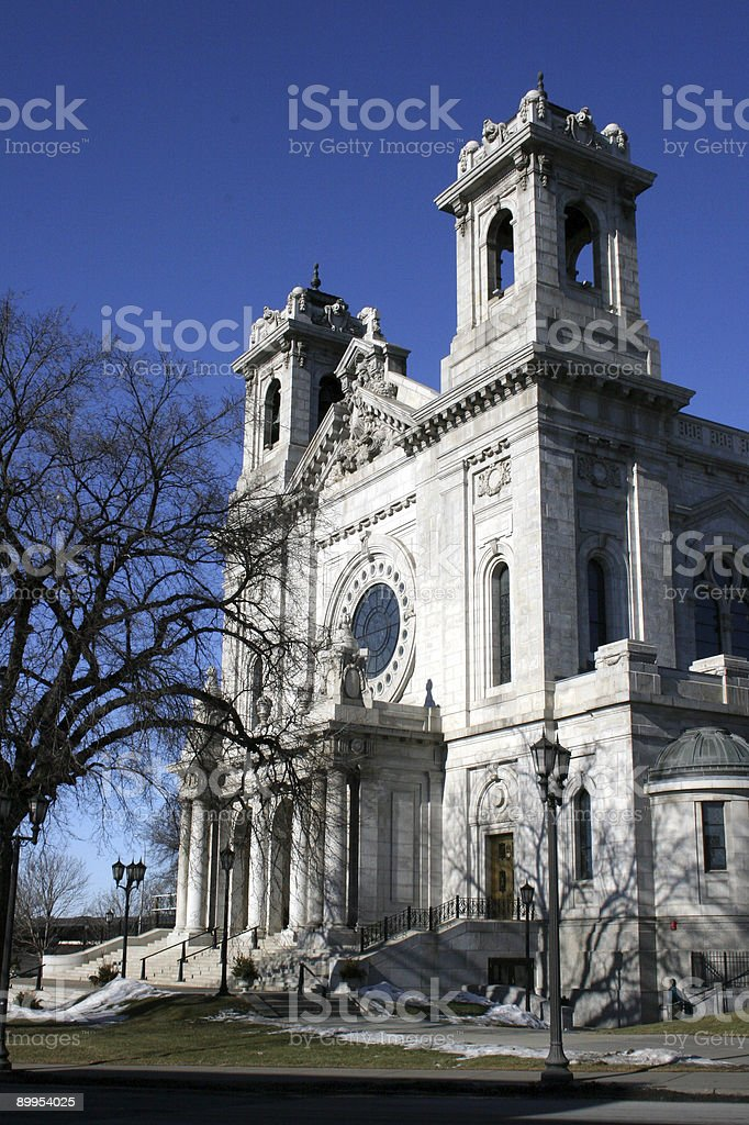 East side View of a Basilica royalty-free stock photo