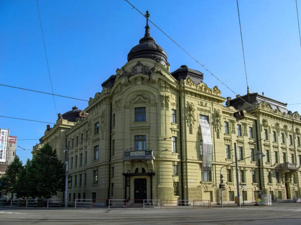 East Slovak Museum in Kosice is one of oldest Slovak museums stock photo