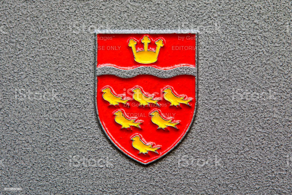 East Sussex County Council Coat of Arms stock photo