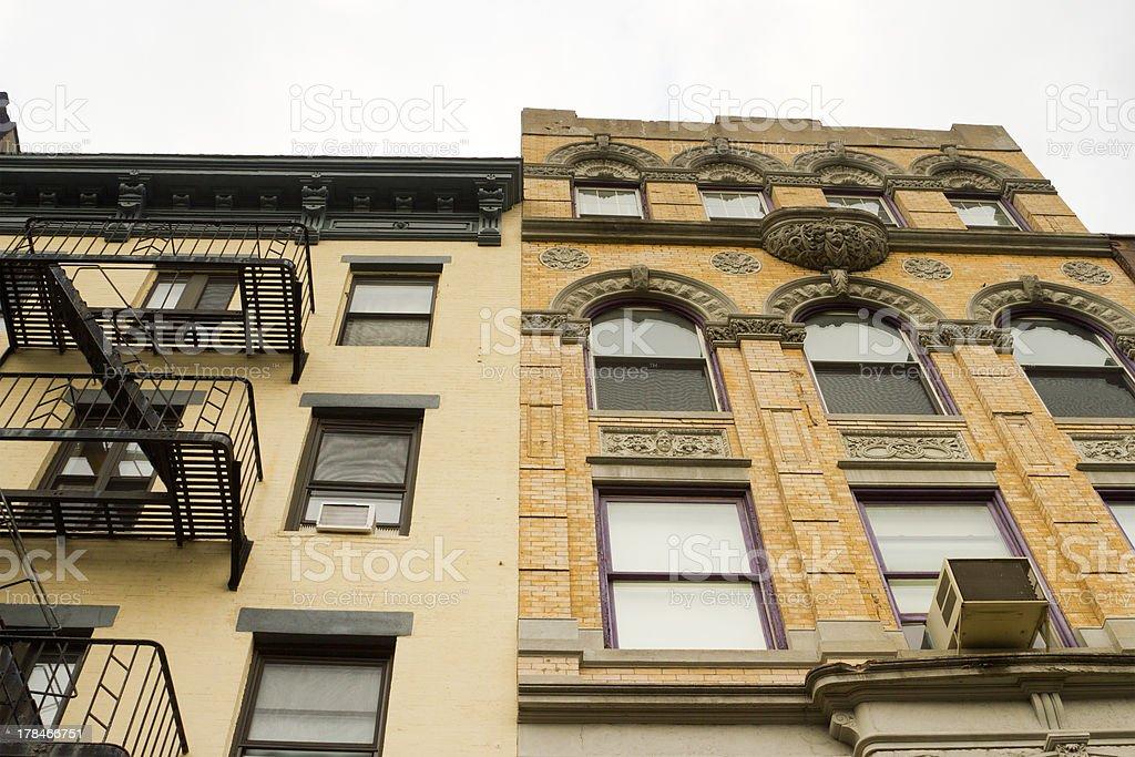 East Village Apartments, New York stock photo