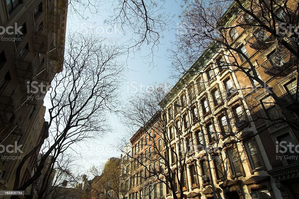 East Village Housing royalty-free stock photo