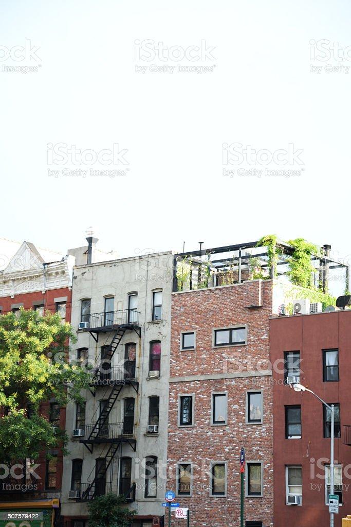 East Village stock photo
