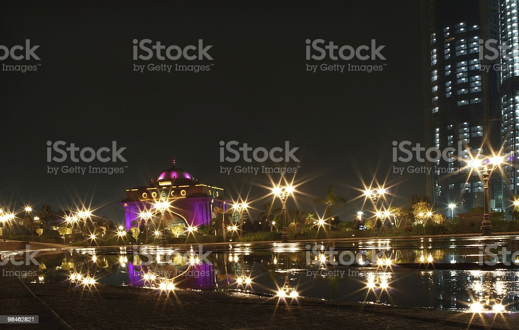 East wing gate of Emirates Palace royalty-free stock photo
