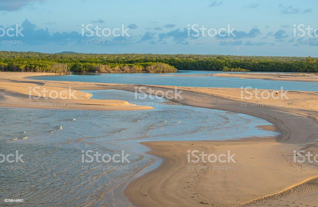 East Woody beach of NT state, Australia. foto