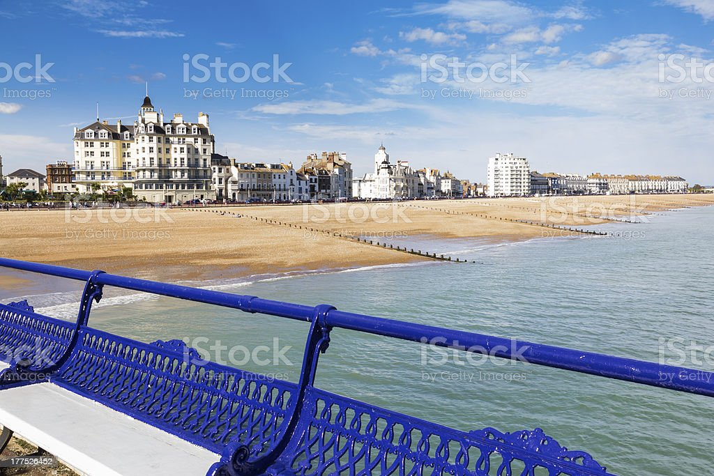 Eastbourne East Sussex stock photo