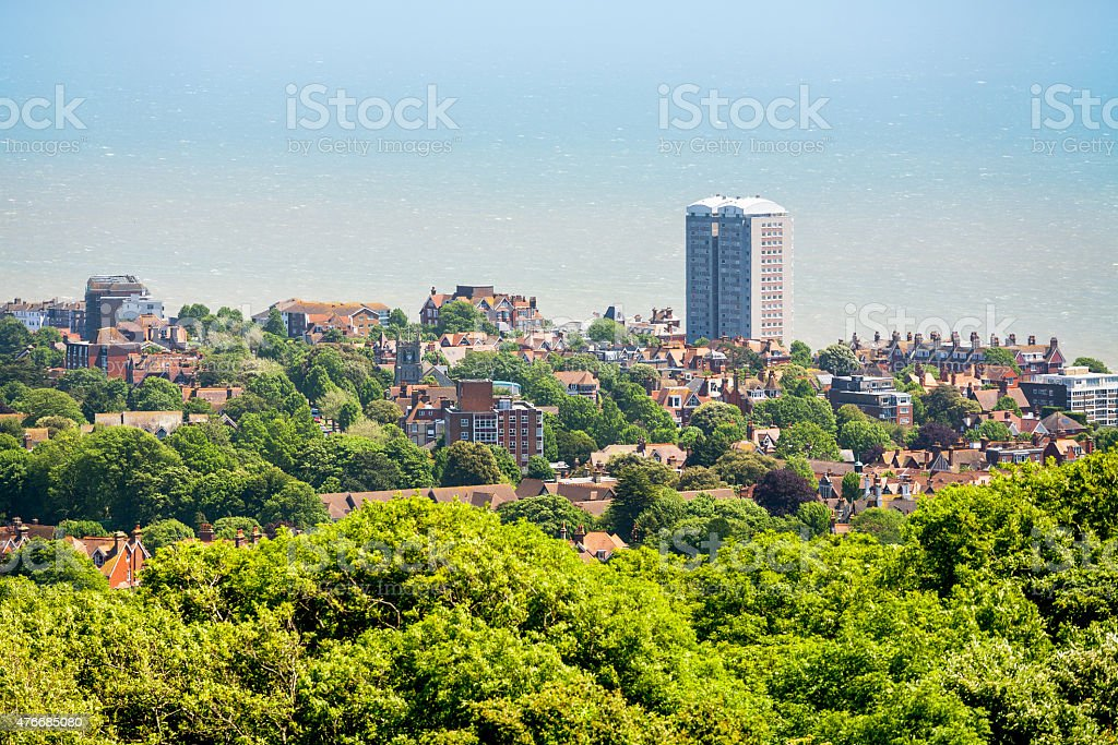 Eastbourne. East Sussex, United Kingdom stock photo