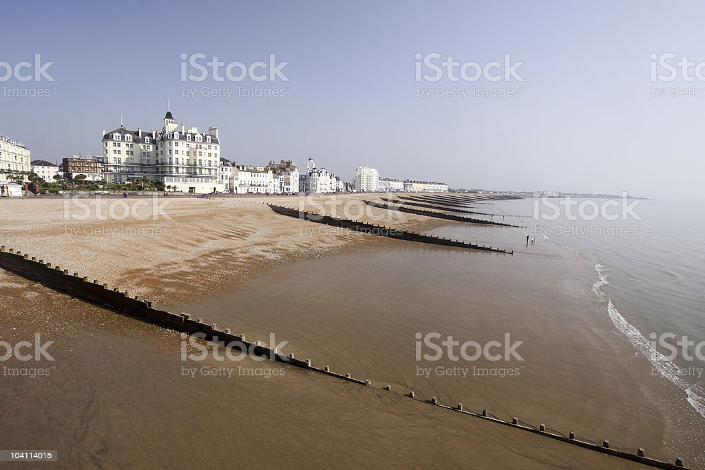 Eastbourne in East Sussex, England stock photo